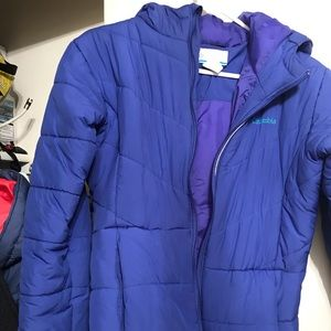 Columbia hooded parka, girls XL
